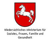 Logo des Niedersächsischen Ministeriums für Soziales, Frauen, Familie und Gesundheit